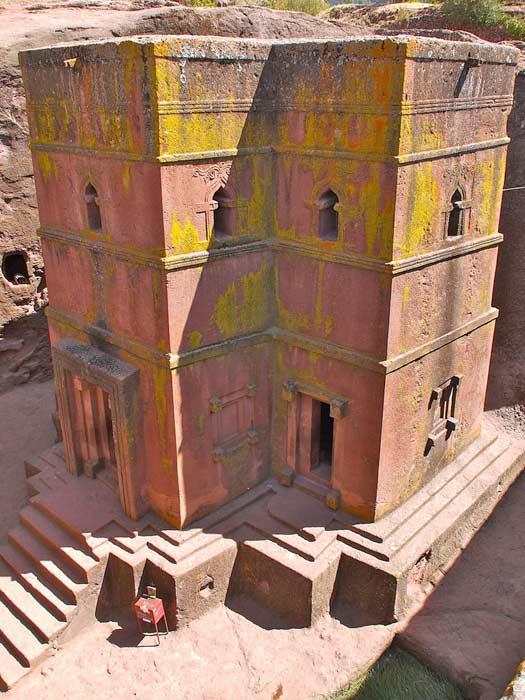 Church of Saint George, Ethiopia. Photo by Martijn.Munneke