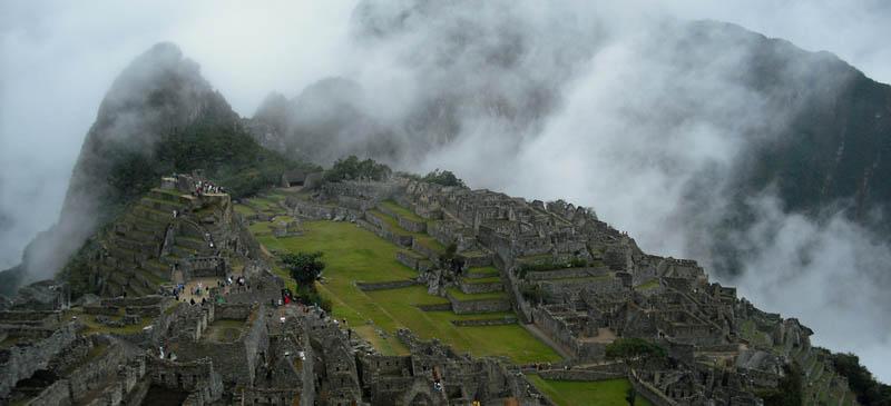 Part of the trip of a lifetime... Macchu Pichu