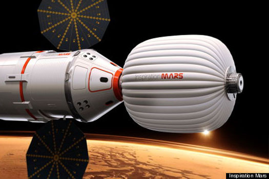 Inspiration Mars spacecraft