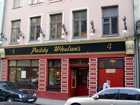 Paddy Whelan's, Grecinieku Street 4, Old Riga, Latvia