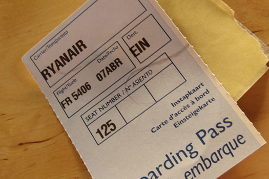 Ryanair charges a high fee to change booking details
