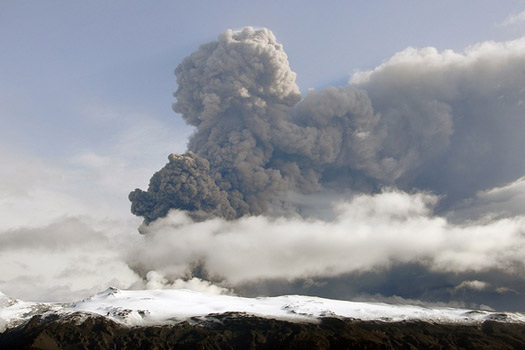 The volcanic ash cloud stranded millions in 2010