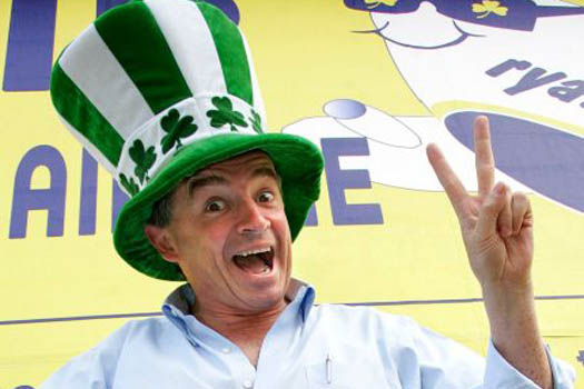 Getting ready for Paddy's Day... Michael O'Leary