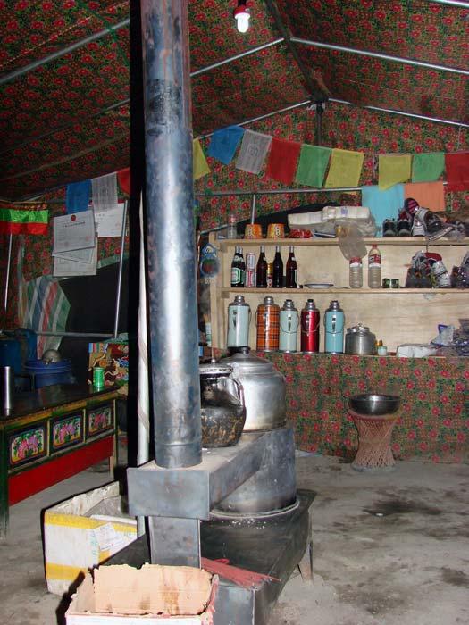 Tea hut, Mount Everest