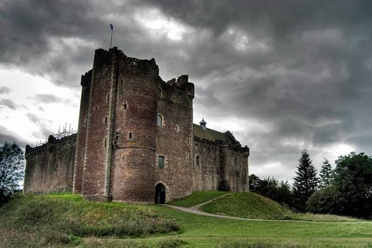 Doune Castle Scotland. Photo by Jaime