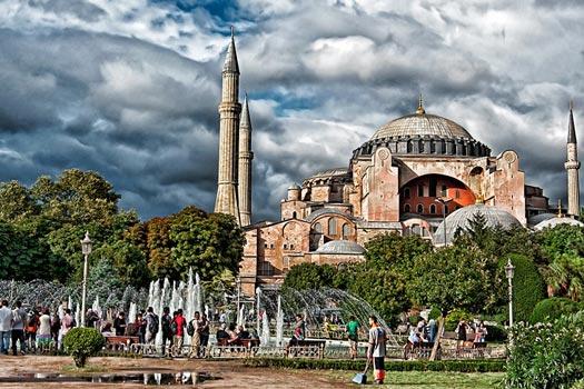 Hagia Sophia. Photo by Mathias