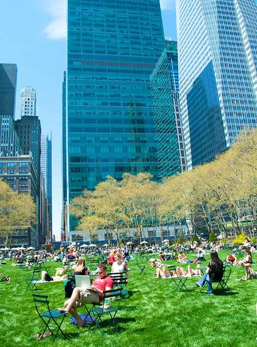 Bryant Park - America's greenest cities