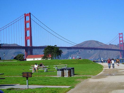 Crissy Field, Golden Gate National Park
