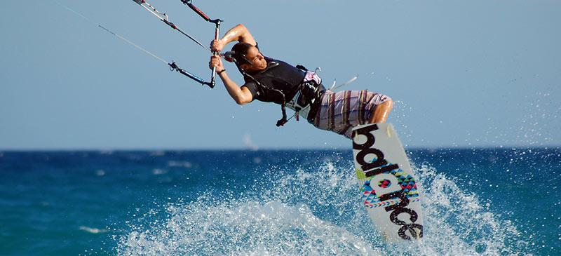 Kitesurfing Antigua