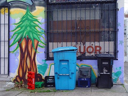 Recycle bins - SF America greenest cities