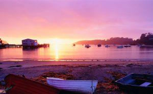 Sunrise from Stewart Island, New Zealand