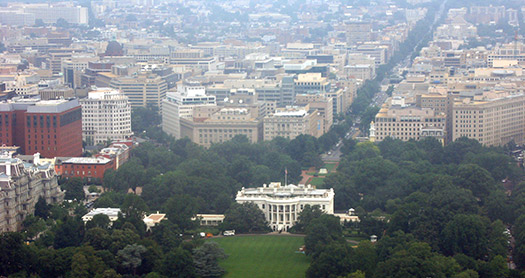 White House - America's greenest cities