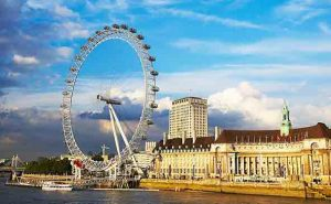 The UK is ranked ahead of the US for tourism