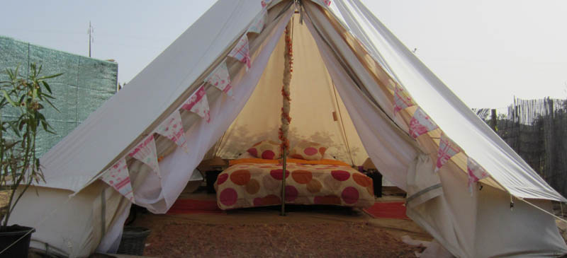 Have you been 'glamping' yet?
