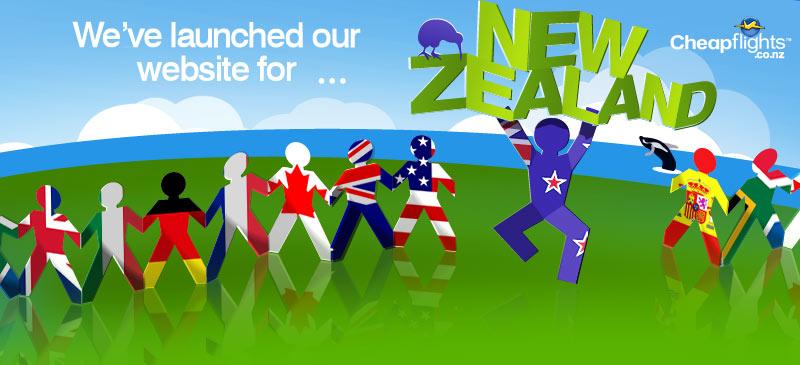 New Cheapflights New Zealand Site