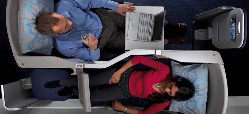 Where do you prefer to sit on a flight?