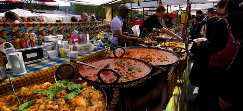 Top 10 Cities for Street Food