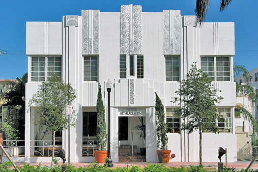 Miami Art Deco. Photo by Sandra Cohen-Rose and Colin Rose