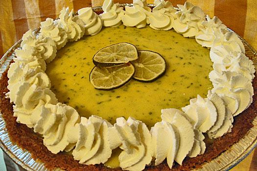 Key Lime Pie. Photo by Kimberly Vardeman