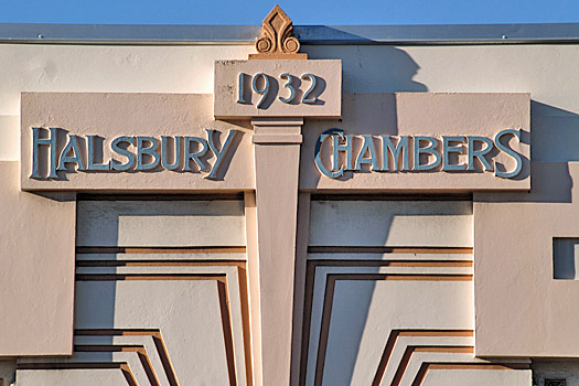 Halsbury Chambers, Napier. Photo by Sandra Cohen-Rose and Colin Rose