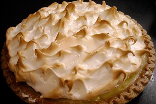 Lemon Meringue Pie. Photo by Kirsten
