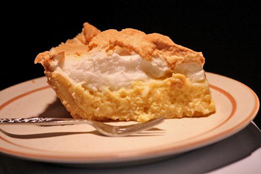Lemon Meringue Pie. Photo by Jon Mountjoy
