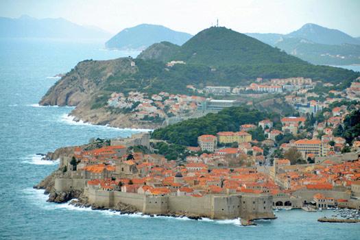 Dubrovnik, Croatia. King's Landing. Photo by Woody Hibbard