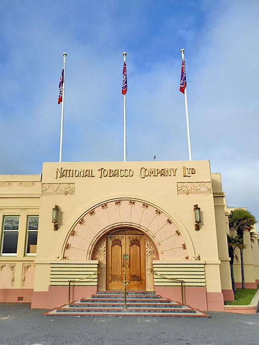 National Tobacco Company, Napier. Photo by Summer Skyes 11