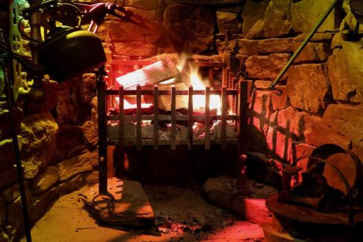Inside the Oak Tree Inn Balmaha