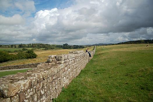 Birdoswald Roman Fort Hadrians Wall