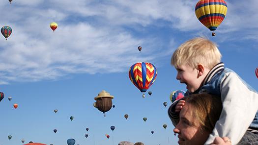 Albuquerque International Balloon Fiesta, New Mexico, USA