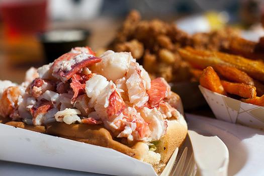 Lobster Rolls, New England, USA