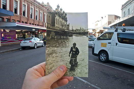Postcard, Maitland, New South Wales, Australia