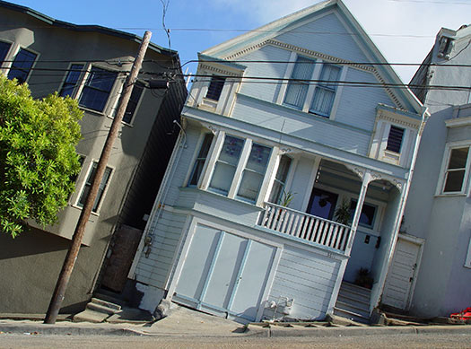 San Francisco streets, California, USA