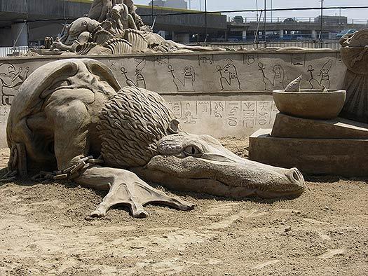 Sand Sculpture Festival Brighton
