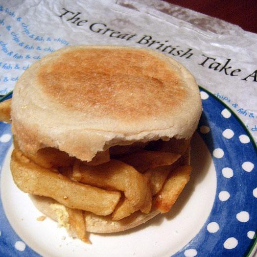 Chip Butty, United Kingdom