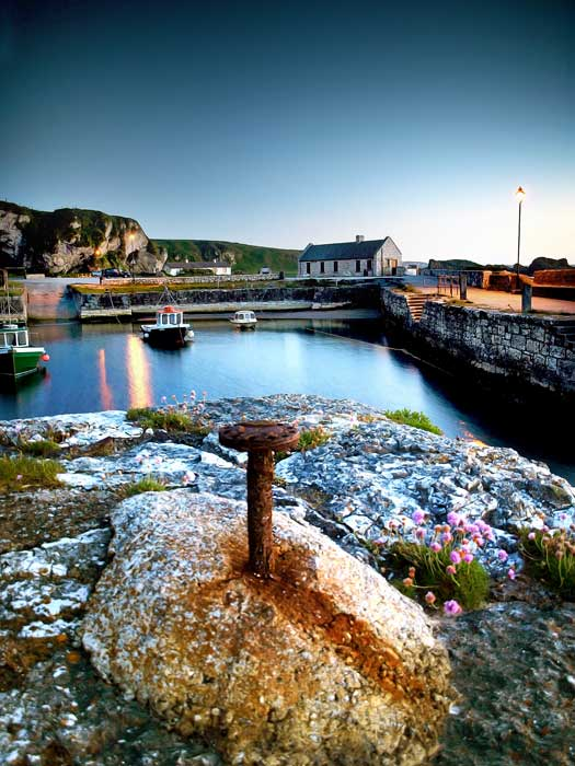Ballintoy Harbour as the Iron Islands. Photo by Causeway Coast and Glens Tourism