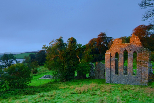 Inch Abbey - the Twins at Riverlands. Photo by Northern Ireland Screen
