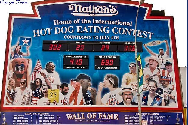 Nathan's International July Fourth Hot Dog Eating Contest