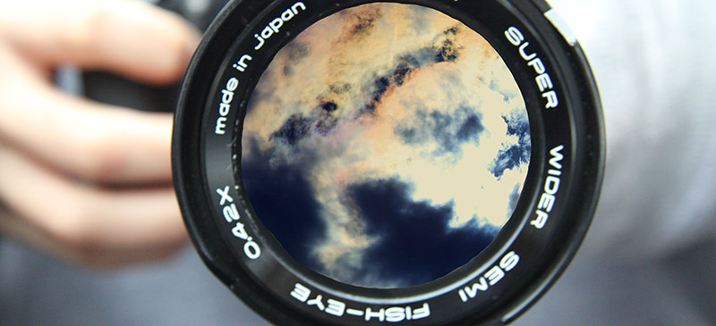 Fish-eye photography