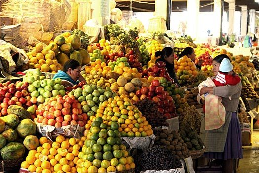 Mercado Central of Sucre