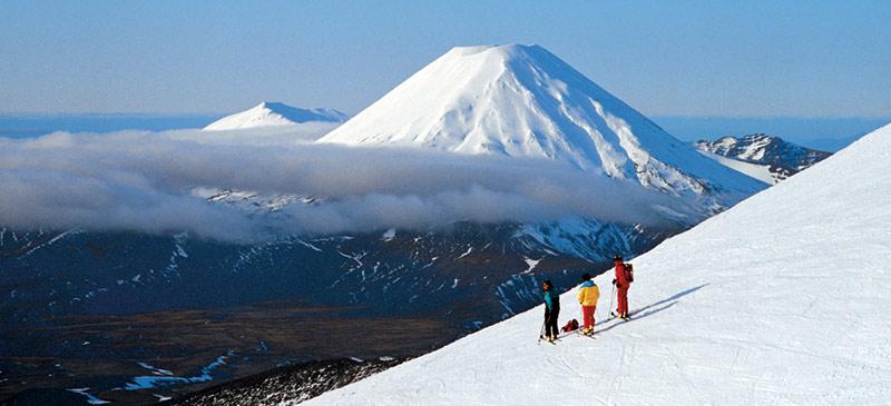 Skiing in New Zealand