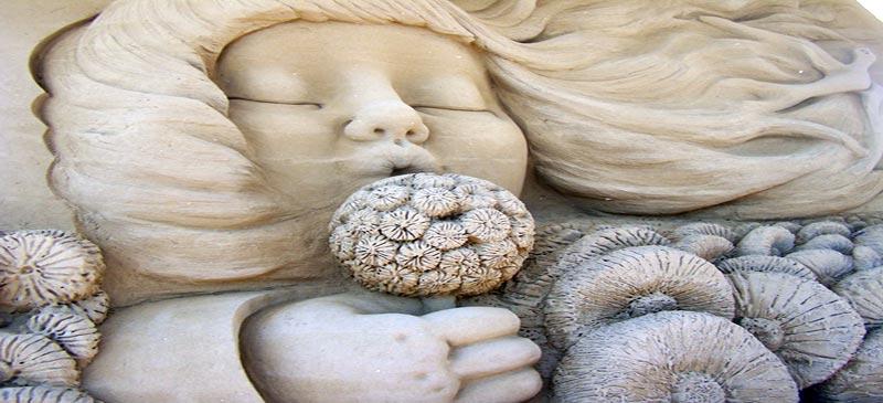 Sand sculpture festivals