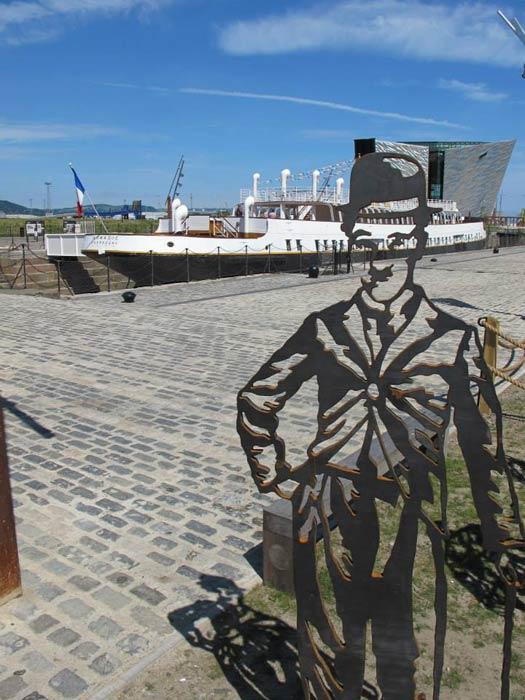 The SS Nomadic. Photo by Kara Segedin