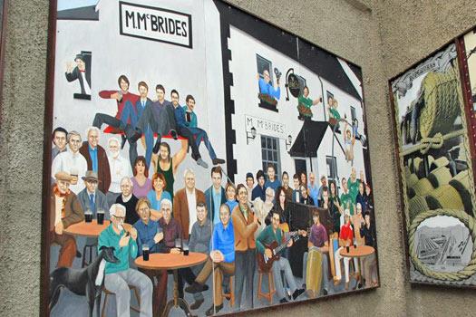 Mural by the Duke of York, Belfast. Photo by Kara Segedin