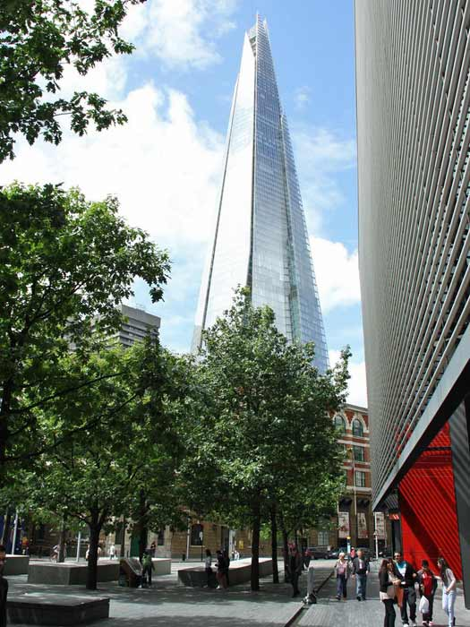The Shard, London Bridge. Photo by Dave Catchpole
