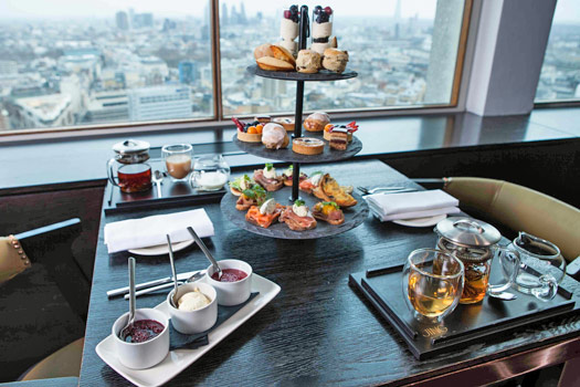 Very High Tea at Paramount, Centre Point. Photo by Paramount.