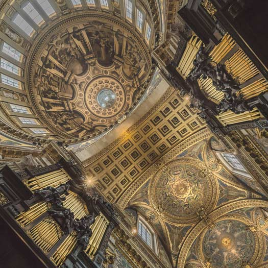 Organ and Dome. Photo by Graham Lacdao