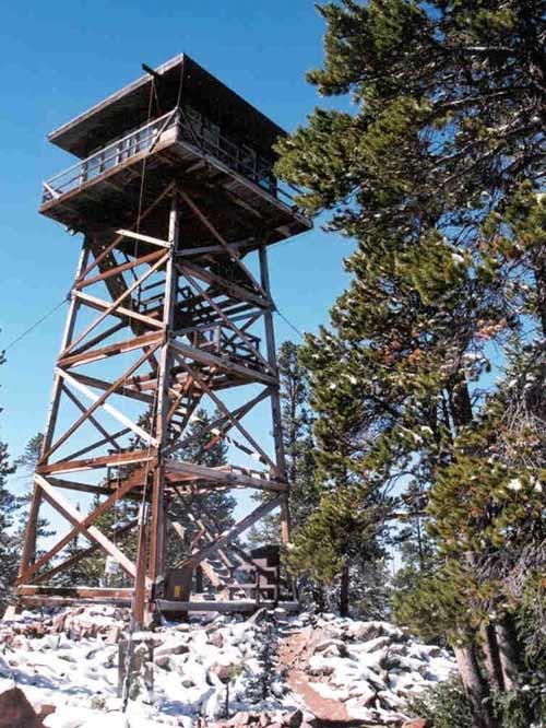 Spruce Mountain Fire Lookout