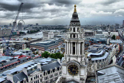 View from St Paul's. Photo by SPDP
